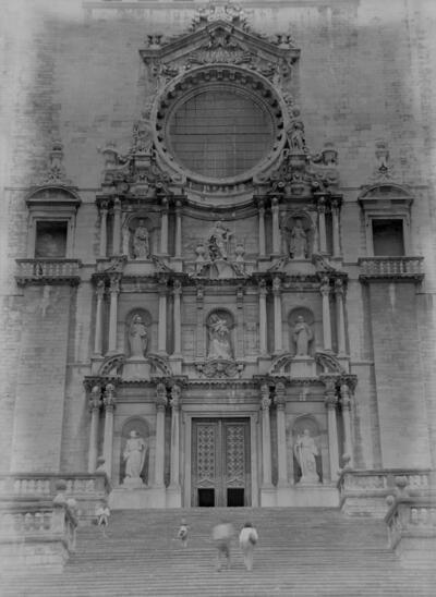 Girona. Façana Catedral