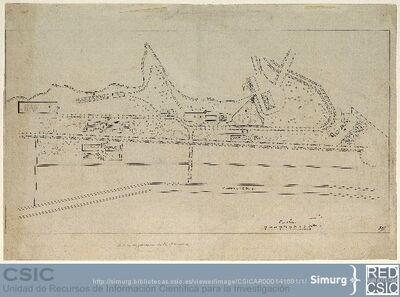 Javier de Winthuysen (1874-1960) | Material gráfico; Plano general de los Jardines de la Moncloa