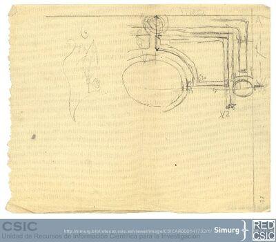 Javier de Winthuysen (1874-1960) | Material gráfico; Dibujos de parterre con sus correspondientes medidas y de una hoja