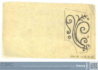 Javier de Winthuysen (1874-1960) | Material gráfico; Dibujo de parterre
