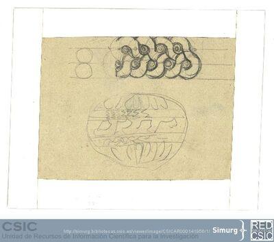 Javier de Winthuysen (1874-1960) | Material gráfico; Detalle decorativo