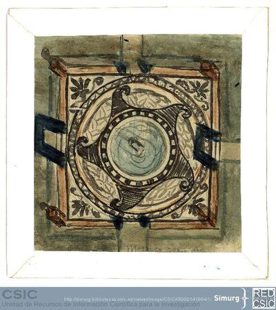 Javier de Winthuysen (1874-1960) | Material gráfico; Dibujo de fuente cerámica