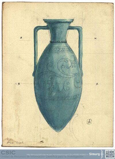 Javier de Winthuysen (1874-1960) | Material gráfico; Dibujo de jarrón