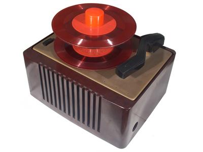 RCA Victor QEY 4 autochange record player: autochanger