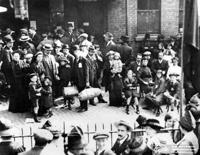 Belgian refugees WWI
