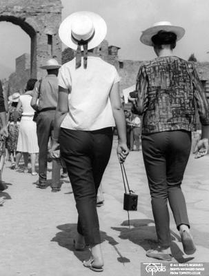 Tourists in Italy