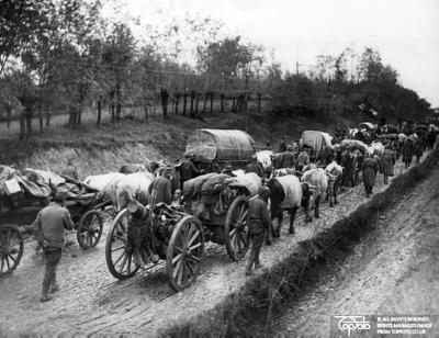 WW 1 Serbian retreat