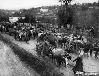 WW 1 Serbian refugees