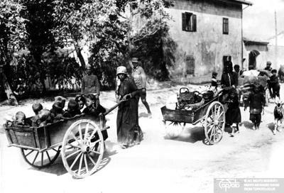 WW 1  WW 1 Italian Front Civilians