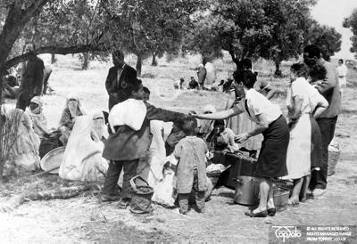 Algerian refugees