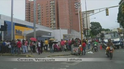 Veneçuela viu la revolta dels plasmes