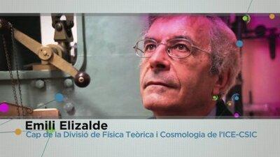 Càpsules de Ciència: Emili Elizalde, l'orígen de l'Univers: L'abans del no res