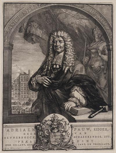 Portret Adriaen Pauw, staatsman