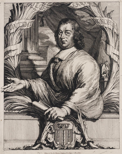 Portret Johan van de Wayen (professor Hebreeuws)