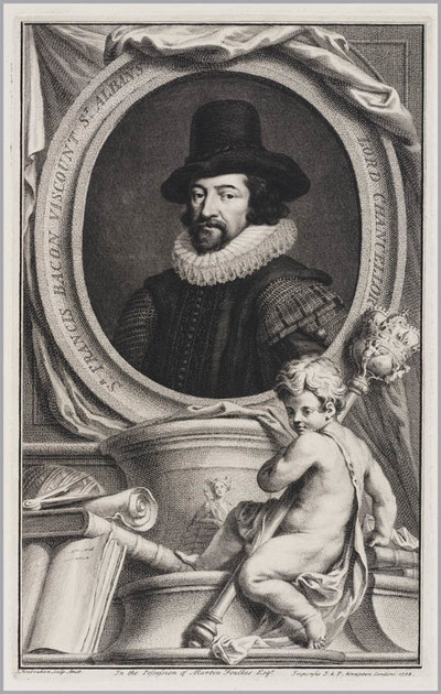 The Heads of Illustrious persons: Francis Bacon
