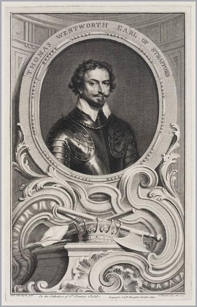 The Heads of Illustrious persons: Thomas Wentworth graaf van Stratford