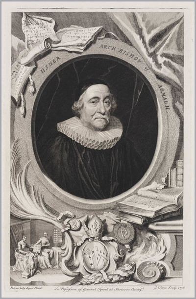The Heads of Illustrious persons: Usher aartsbisschop van Armagh
