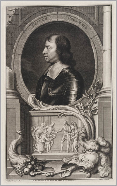 The Heads of Illustrious persons: Oliver Cromwell