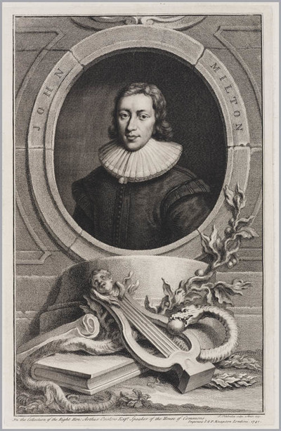 The Heads of Illustrious persons: John Milton