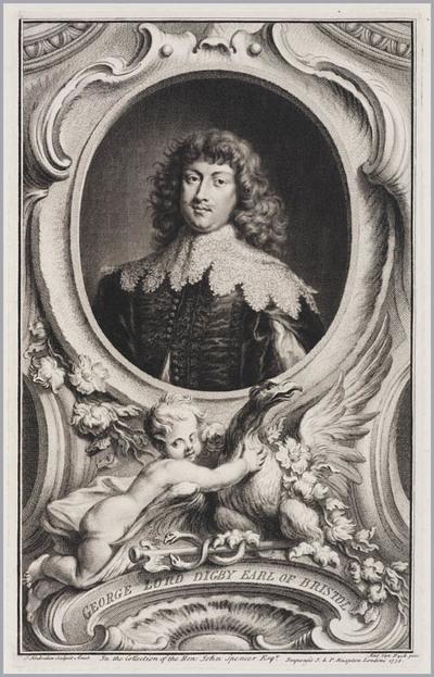 The Heads of Illustrious persons: George Lord Digby graaf van Bristol