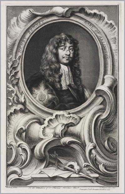 The Heads of Illustrious persons: Henry Bennet graaf van Arlington