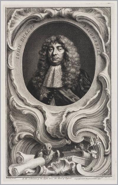 The Heads of Illustrious persons: John hertog van Lauderdale