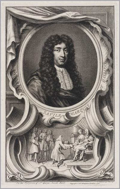 The Heads of Illustrious persons: George Saville Markies van Hallifax