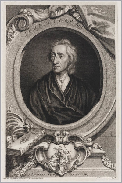 The Heads of Illustrious persons: John Locke
