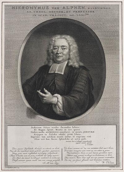 Portret Hieronymus van Alphen