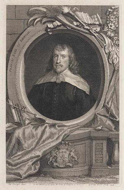The Heads of Illustrious persons: Francis graaf van Bedford