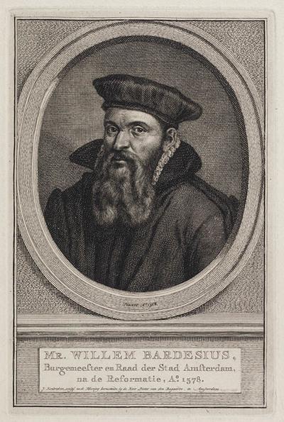 Portret Willem Bardesius