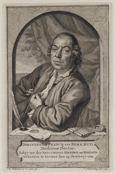 Portret Johannes le Francq van Berkhey