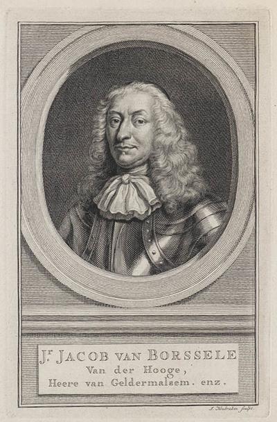 portret Jhr. Jacob van Borssele van der Hooge