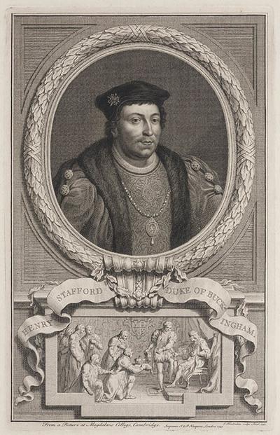 Portret Henry Stafford hertog van Buckingham