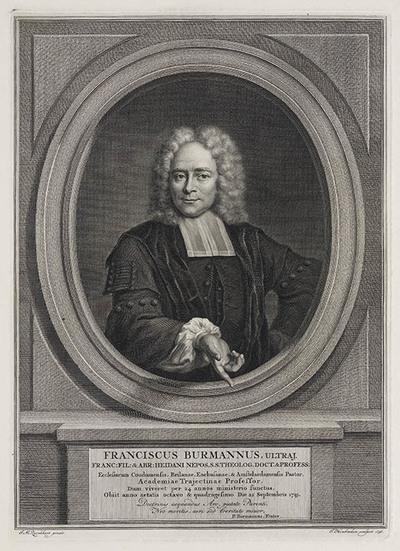 Portret Franciscus Burmannus