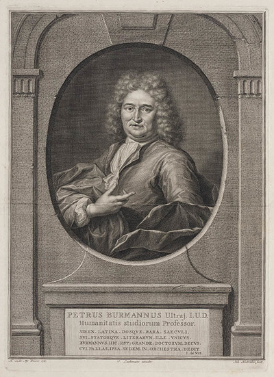 Portret Petrus Burmannus