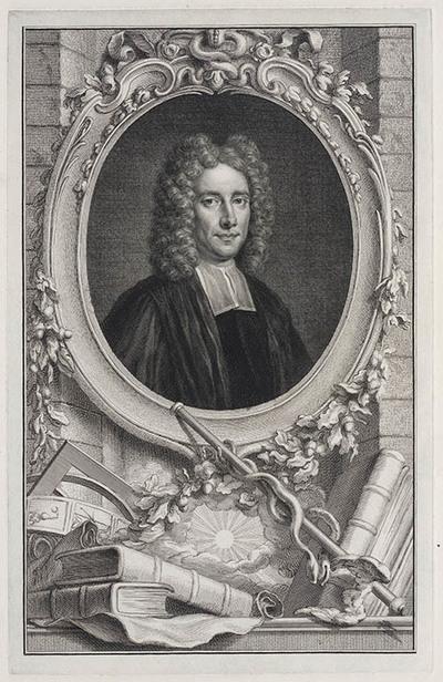 Portret Sir Samuel Clarke