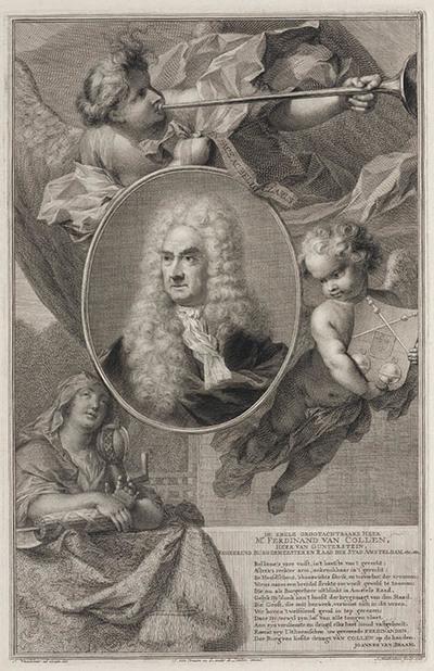 Portret Ferdinand van Collen