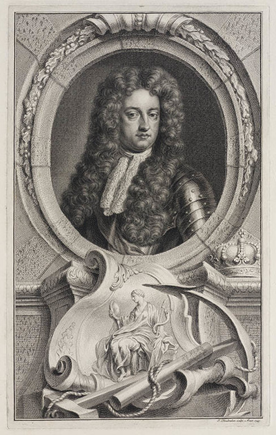 Portret George prins van Denemarken