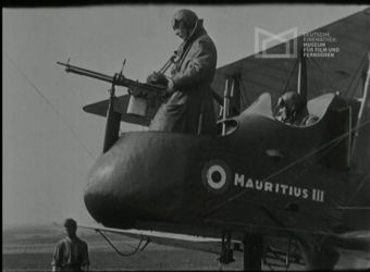 Unidentified German film about aerial warfare containing footage from WWI