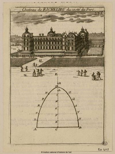 Château de Richelieu du costé du parc