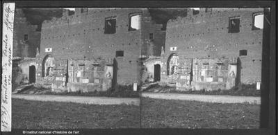 Tombeau de Caecilia Metella. Via Appia