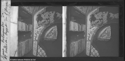 Rome. Catacombes de Saint Calliste. Crypte de l'Océan
