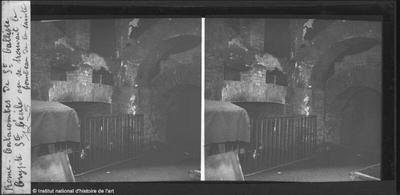 Rome. Catacombes de Saint Calliste. Crypte Sainte Cécile [...]