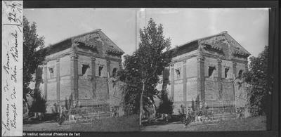 Environs de Rome. Temple du dieu Rédicule