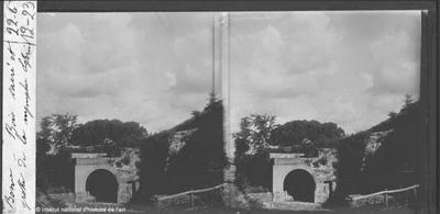 Rome. Bois sacré et grotte de la nymphe Egérie