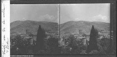 Tivoli vu de la villa d'Este