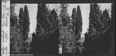 Tivoli. Allée centrale de la Villa d'Este