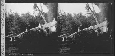 [Tivoli] Escalier villa d'Este