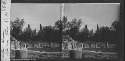 [Tivoli] Villa Adriana. Salle du trône